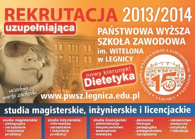 Wolne miejsca na studia w PWSZ !