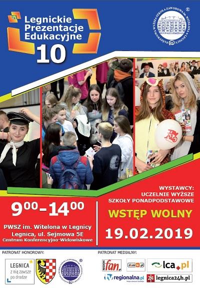 Program i wystawcy X Legnickich Prezentacji Edukacyjnych