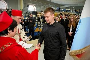 Gaudeamus po raz 17 w PWSZ im. Witelona w Legnicy !