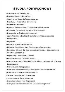 Trwa rekrutacja na studia podyplomowe i kursy dokształcające w PWSZ im. Witelona w Legnicy