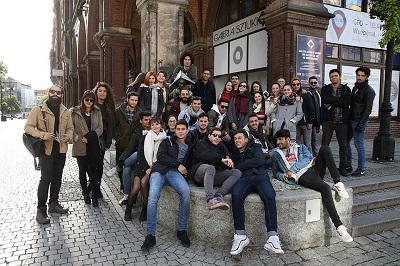 PWSZ im. Witelona w Legnicy gości studentów z programu Erasmus+