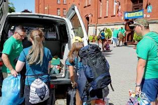 Wolontariusze wyjechali na Ukrainę !