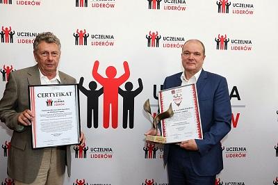 Państwowa Wyższa Szkoła Zawodowa im. Witelona w Legnicy Uczelnią Liderów 2019