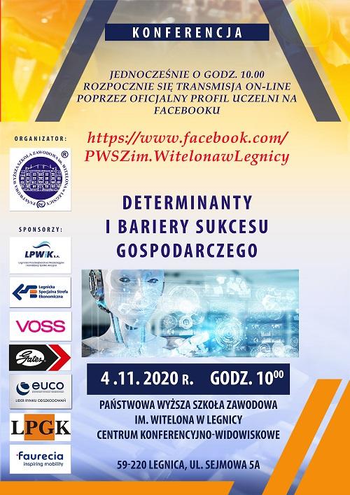Determinanty i bariery sukcesu gospodarczego w regionie legnickim