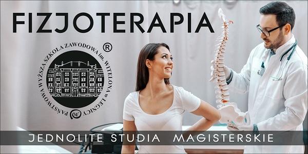 Fizjoterapia - studia dla Ciebie!