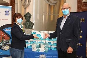 Maseczki ochronne dla szpitali w Legnicy i Złotoryi