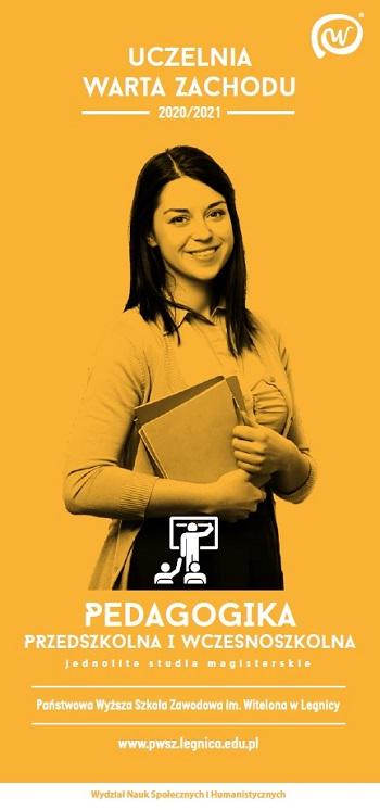 Studiuj Pedagogikę przedszkolną i wczesnoszkolną