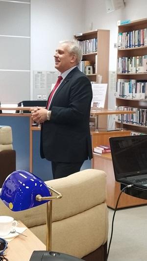 Za nami spotkanie z Jerzym Starzyńskim