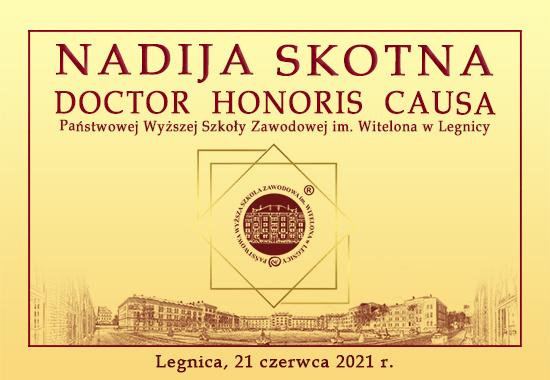 Uczelnia nada pierwszy tytuł Doctora Honoris Causa