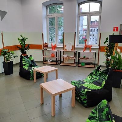 Powstaje strefa relaksu dla studentów PWSZ im. Witelona w Legnicy!