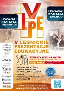 Wybierz swoją szkołę podczas V Legnickich Prezentacji Edukacyjnych w PWSZ im. Witelona w Legnicy !
