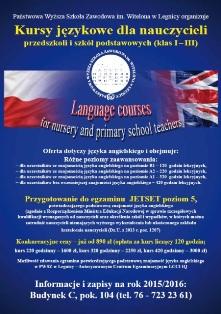 Kursy językowe dla nauczycieli