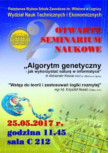 Drugie otwarte seminarium naukowe