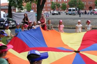 Studenci naszej Uczelni zaangażowani w Festyn Razem dla dzieci