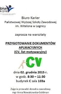 Grudzień z Biurem Karier PWSZ im. Witelona w Legnicy