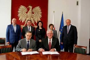 Porozumienie PWSZ im. Witelona w Legnicy z Instytutem Mechanizacji Budownictwa i Górnictwa Skalnego w Warszawie