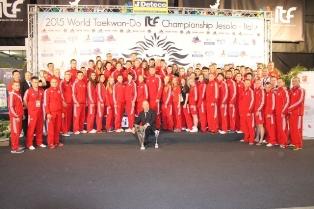 Absolwentka naszej Uczelni na XIX Mistrzostwach Świata w Taekwon-do w Jesolo