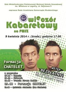 Kabaretowy wieczór w PWSZ
