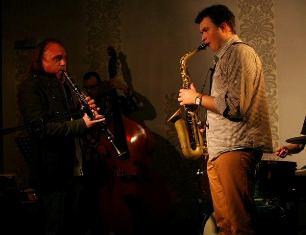 Patrycja Kamola w towarzystwie jazzmanów