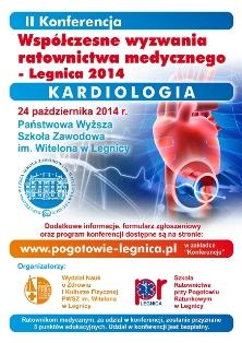 II Konferencja - Współczesne wyzwania ratownictwa medycznego. Kardiologia