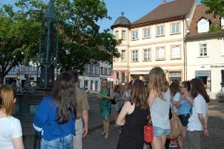 Uczniowie ALO w Karlsruhe