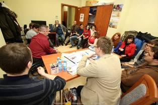 Noworoczne spotkanie studentów z niepełnosprawnościami
