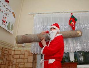 Święty Mikołaj potrzebuje waszej pomocy!!!