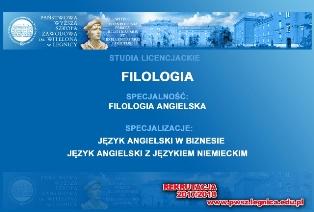Nowe specjalizacje na Filologii angielskiej