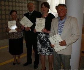 Słuchacze UTW odebrali dyplomy