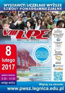 PWSZ im. Witelona w Legnicy zaprasza na VIII Legnickie Prezentacje Edukacyjne