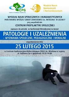 Patologie i uzależnienia – wyzwania społeczne, pedagogiczne i moralne