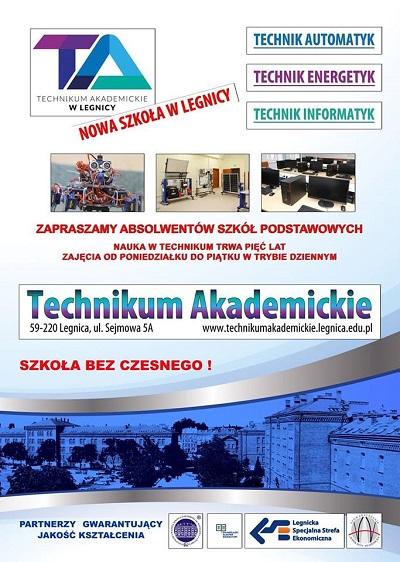 Technikum Akademickie w Legnicy pod patronatem Legnickiej Specjalnej Strefy Ekonomicznej