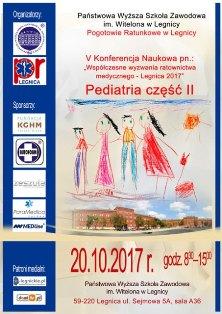 Wspólczesne wyzwania ratownictwa medycznego - Legnica 2017. Pediatria cz. II