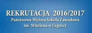 Po maturze czas na studia w PWSZ im. Witelona w Legnicy !