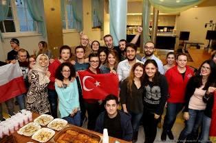 Popis sztuki kulinarnej studentów z Erasmus+