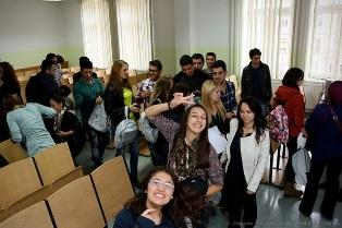Powitanie studentów z programu Erasmus w murach naszej Uczelni !