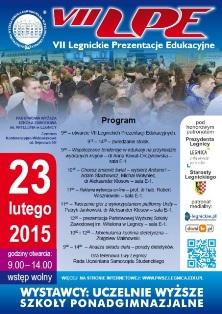 Program VII Legnickich Prezentacji Edukacyjnych