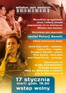 Witelon Jam Session z recitalem Patrycji Kamoli