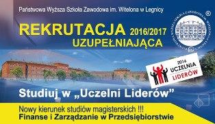 Rusza rekrutacja uzupełniająca w PWSZ im. Witelona w Legnicy