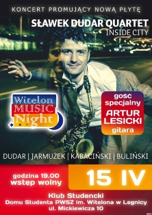 Sławek Dudar Quartet  zagra w Akademiku !
