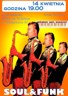 Soul i Funk na Witelon Jam Session