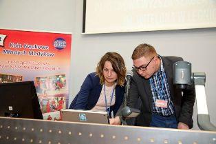 Studenci prezentowali swoje badania na II Ogólnopolskiej Studenckiej Konferencji Młodych Medyków