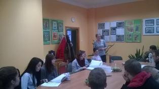 Studenci z wizytą w Młodzieżowym Ośrodku Wychowawczym w Jaworze