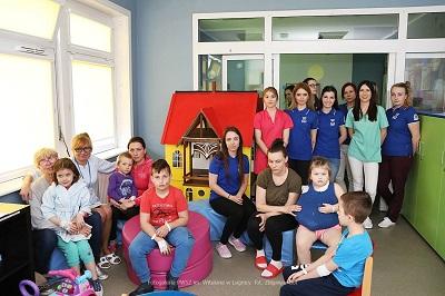 Studentki Sekcji Pielęgniarstwa z wizytą w Szpitalu w Legnicy