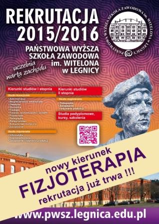 Nowa oferta PWSZ im. Witelona w Legnicy - Studia 40+