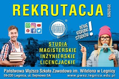Studiuj w PWSZ im. Witelona w Legnicy