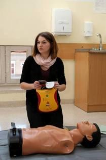 Szkolenia pracowników PWSZ im. Witelona w Legnicy z zakresu obsługi AED