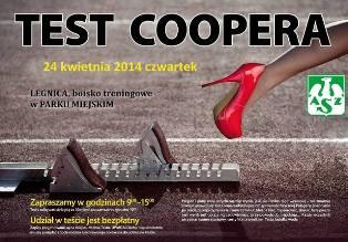 AZS zaprasza na Test Coopera