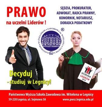 Studiuj Prawo w PWSZ im. Witelona w Legnicy !