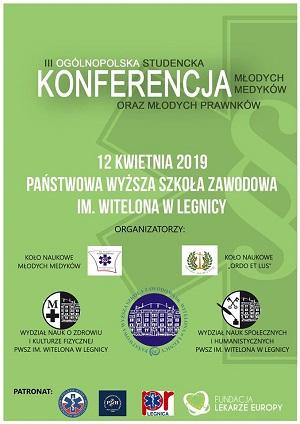 III Ogólnopolska Studencka Konferencja Młodych Medyków oraz Młodych Prawników